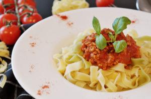 mediterrane Küche Pasta