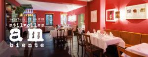 Restaurant mit stilvollem Ambiente